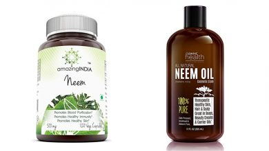 Neem oil and capsules